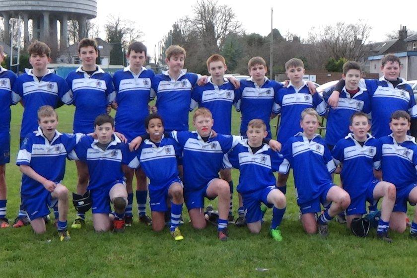 U15 beat Stirling 28 - 31