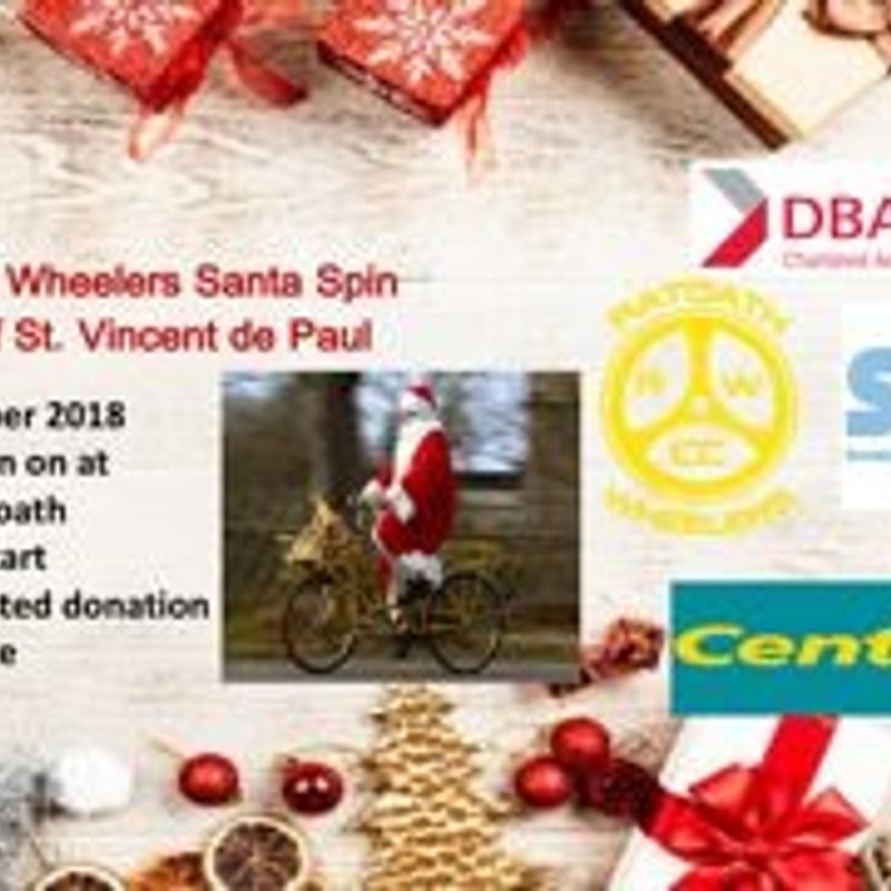 Ratoath Wheelers Santa Spin