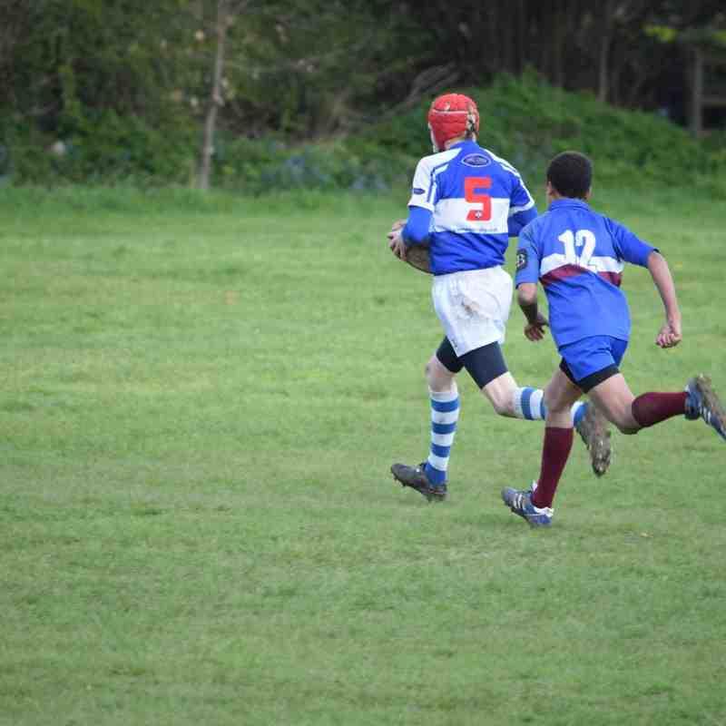 County Cup semi-final v. OVs Apr16