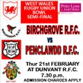 OTHER GAMES beat Birchgrove RFC 14 - 12