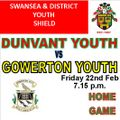 Dunvant Youth vs. Gowerton Youth