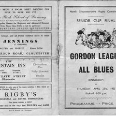 NGC Cup Final Programmes 1953