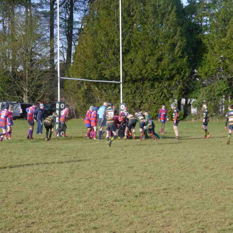 NBRFC U14's vs Old Bristolians