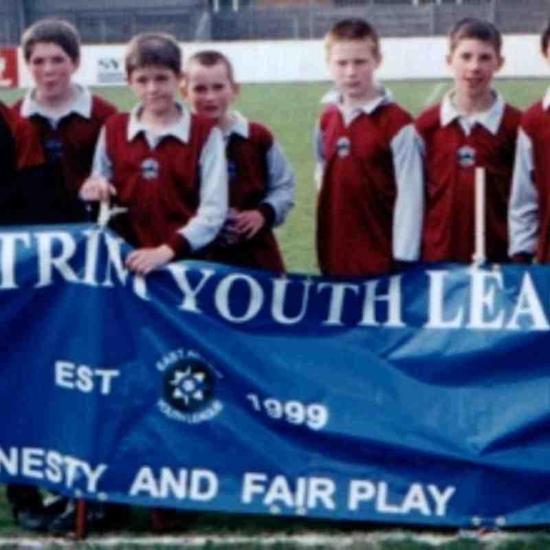 Memories of Greenisland's first team