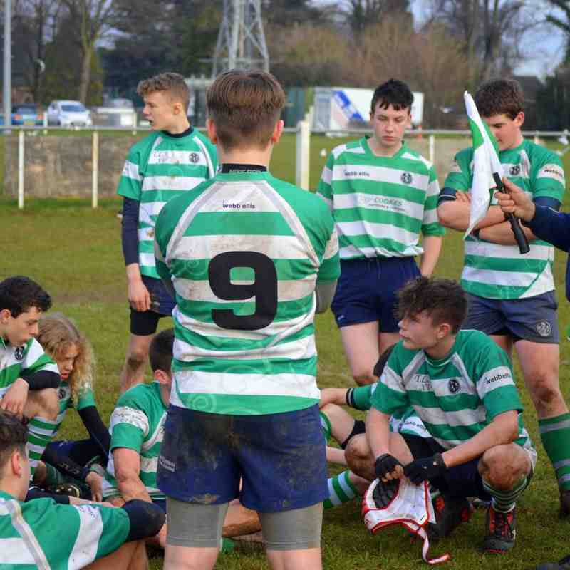 South u15s v Market Harborough Jan 2015