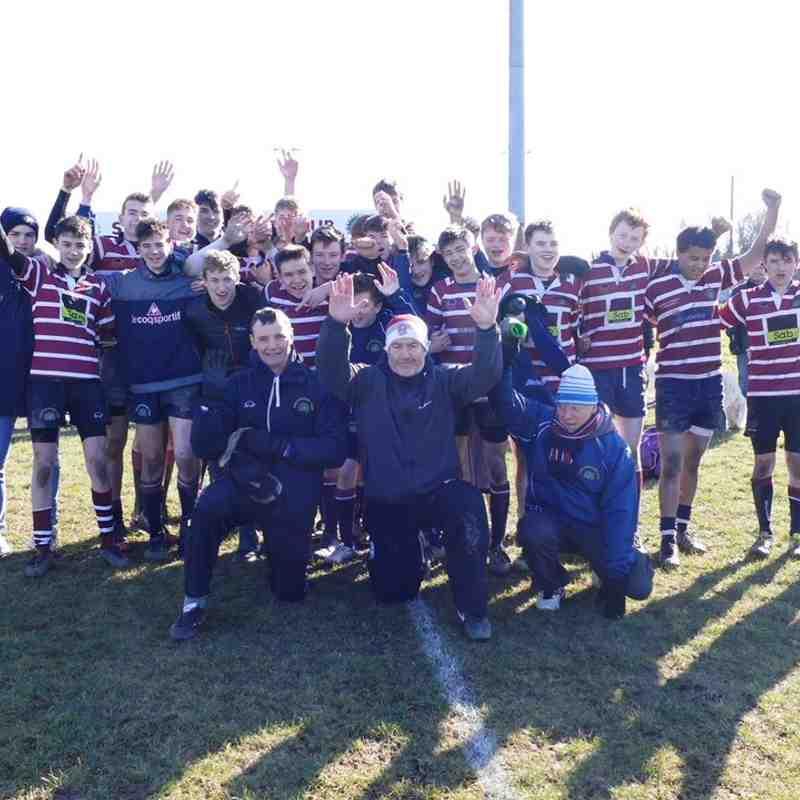 Shelford U16 v Cambridge U16 (25/02/2018)