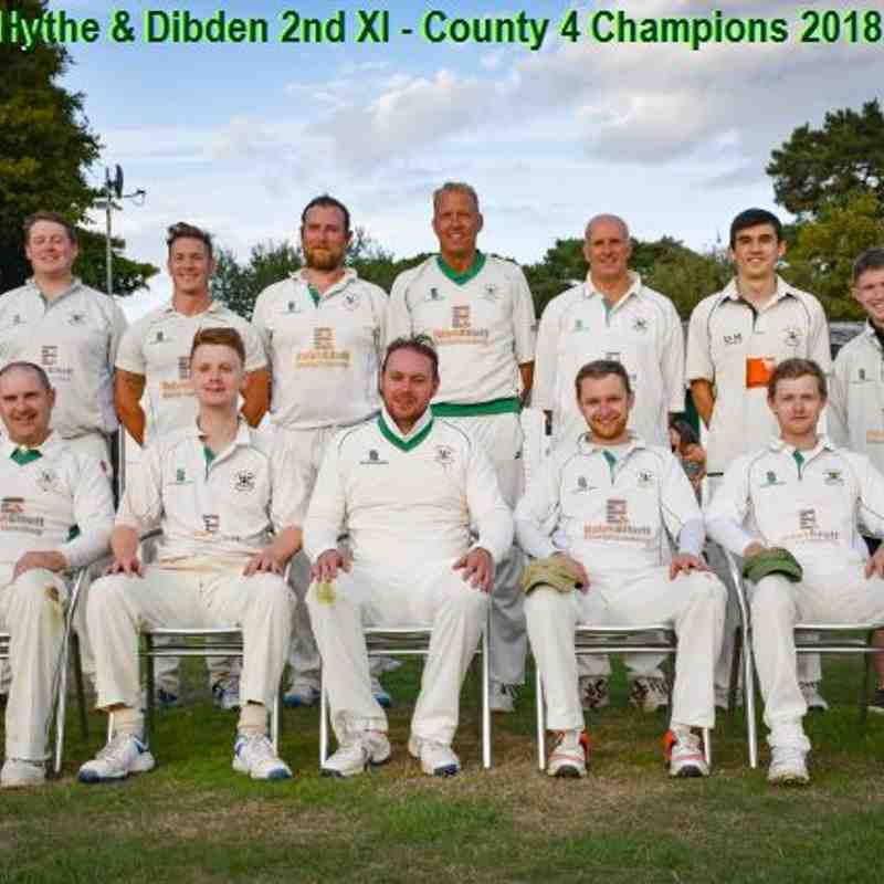 H&D 2nd XI - County 4 Champions 2018