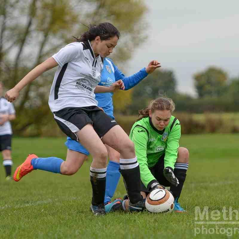 Cas WR Under 16s V Frickley Athletic