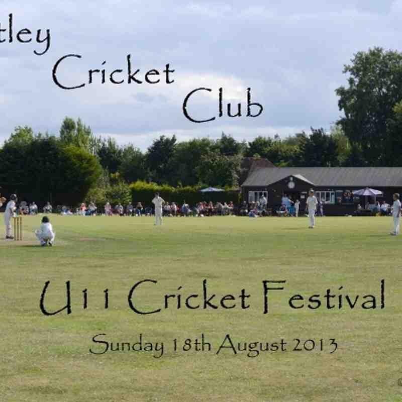 2013-08-18 - Bentley U11's Cricket Festival