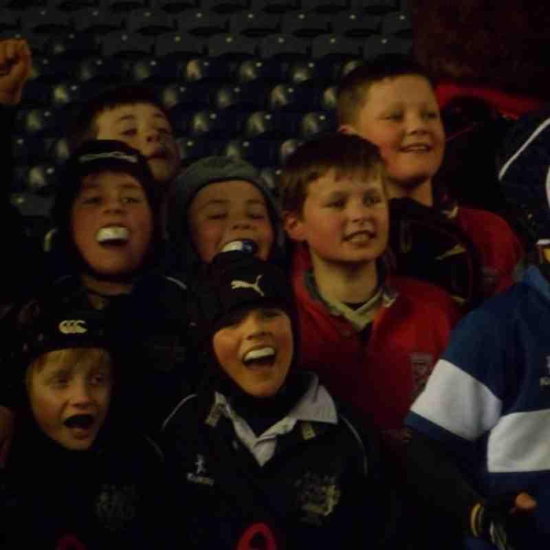 Edinburgh vs Connacht P5 at Murrayfield 12/04/13