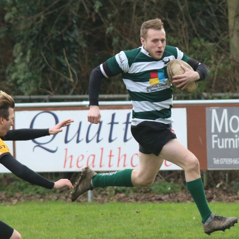 Thirteen proves to be a luck number away at Swaffham