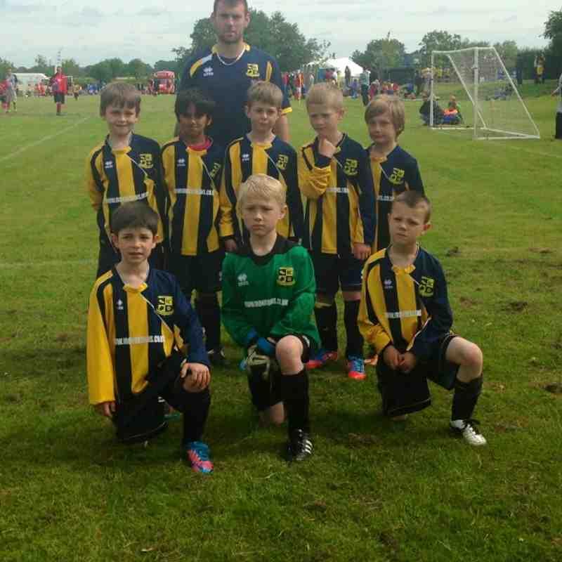 Mile Oak Wanderers FC Under 7s team