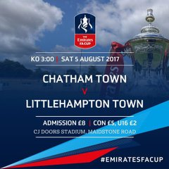 Chatham Town FA Cup