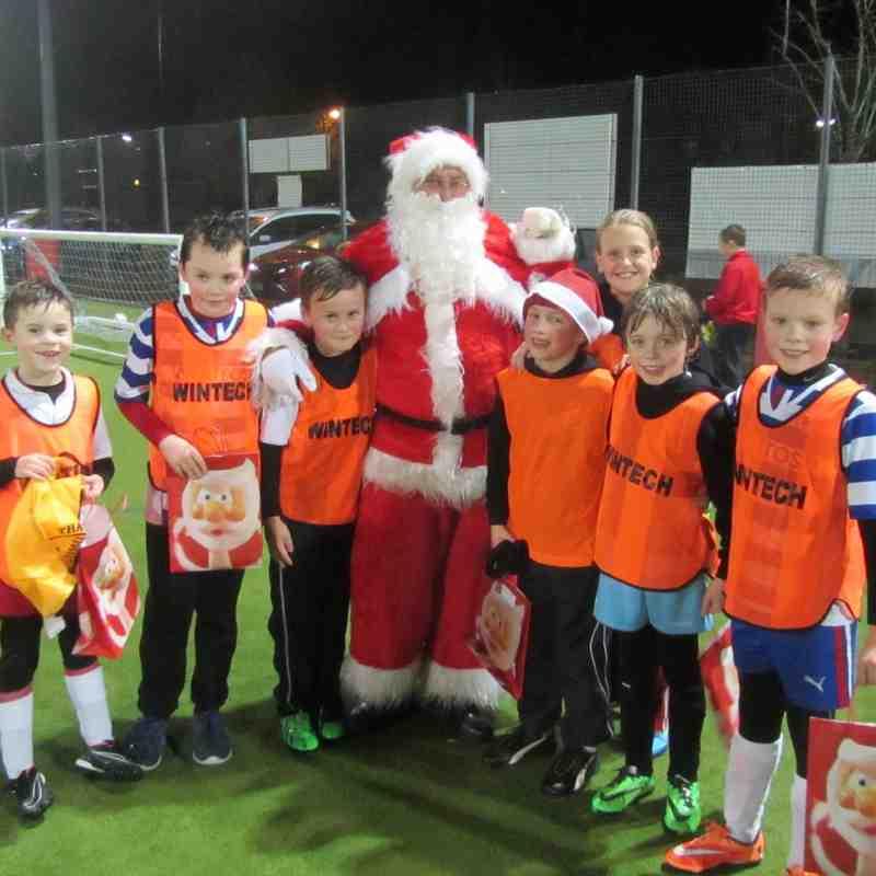 Santa Visits 2014
