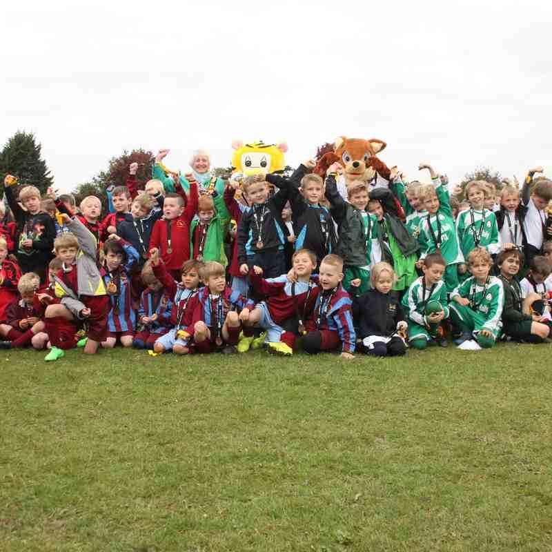 Infant Schools Football Festival 2015