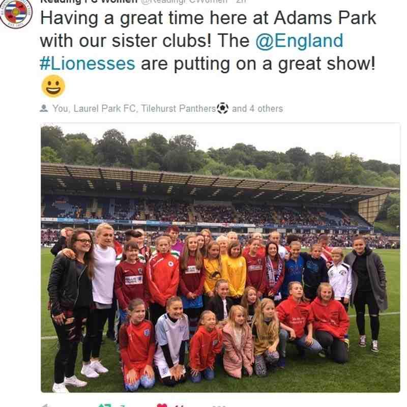 Reading FC Women Sister Club Photos