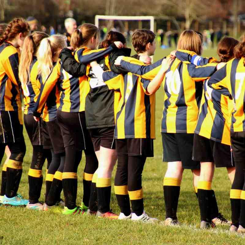 BBFA Cup Semi-Final: Tornadoes U14 Girls v Moretonville Juniors