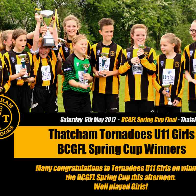 BCGFL Spring Cup Finals - 6th May 2017