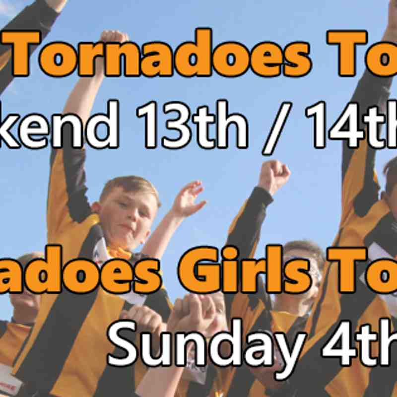 Tornadoes Tournament - 13th/14th May 2017