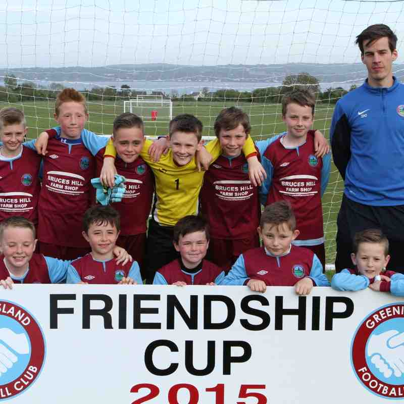 Under 10 's  Jets Friendship Cup