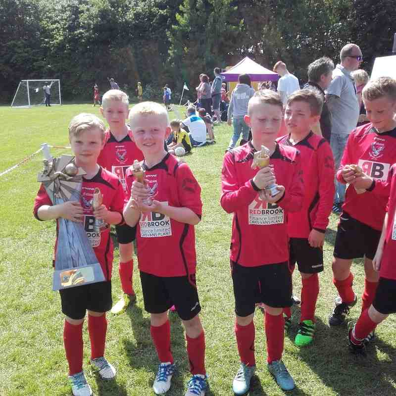 Hoyland Common Falcons U9's Red (2015-16)