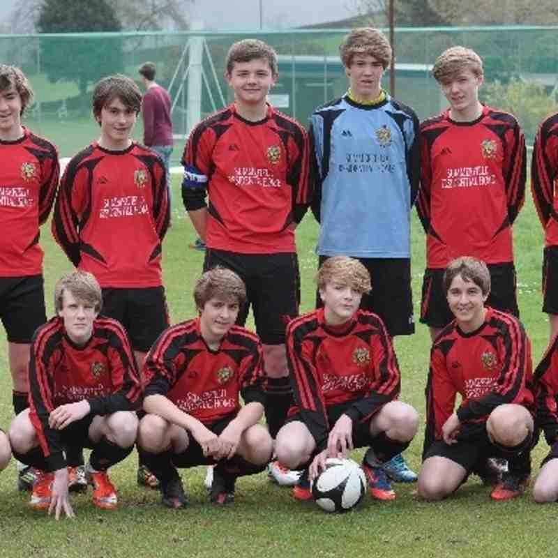 Silsden Reds U15s Cup Final