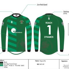 Roach Dynamos Green U11's Season 2017/16