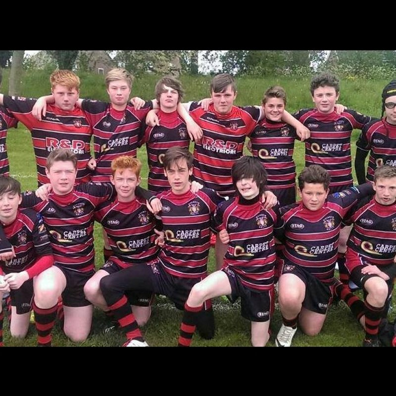 Under 15's lose to Hull Wyke 30 - 12