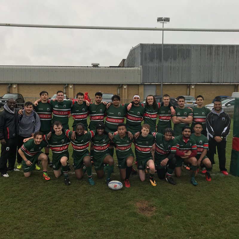 Under 17s lose to London Scottish 0 - 45