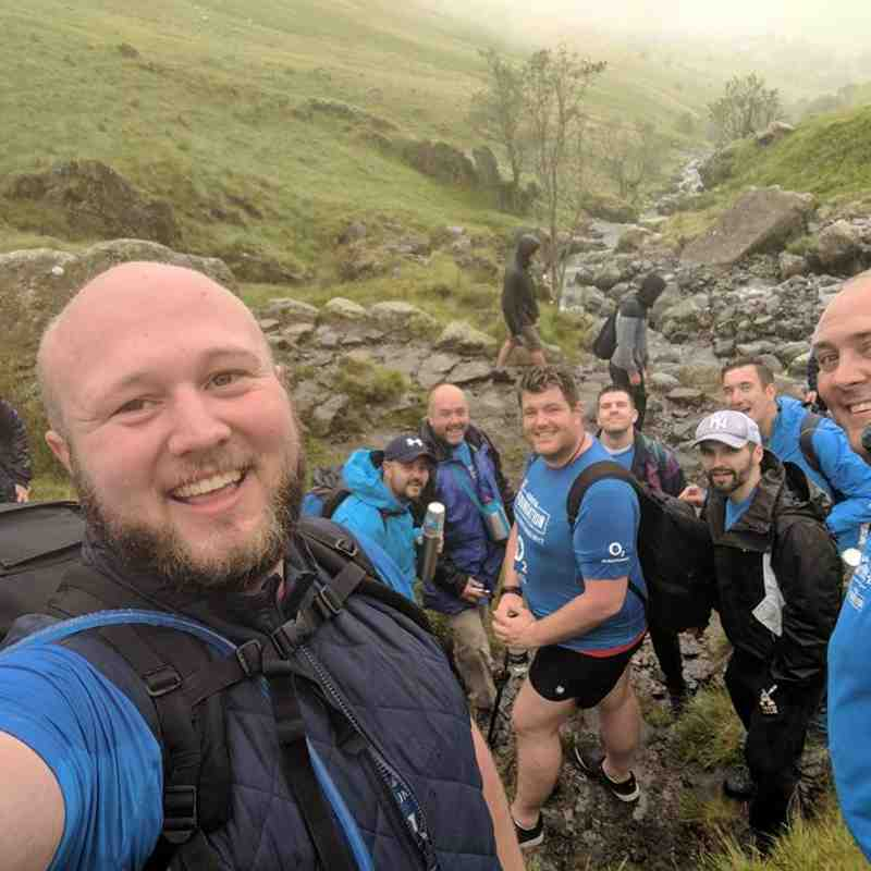 Cardiff Lions RFC do Scafell Pike