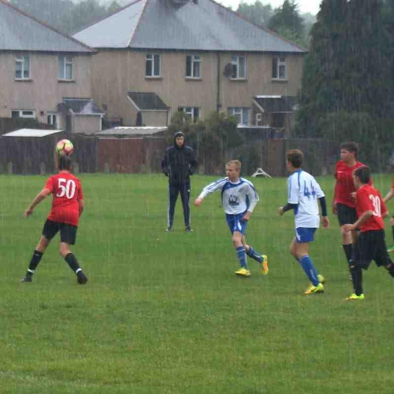 Round 1 League Cup U14 Cobras v Meadow FC