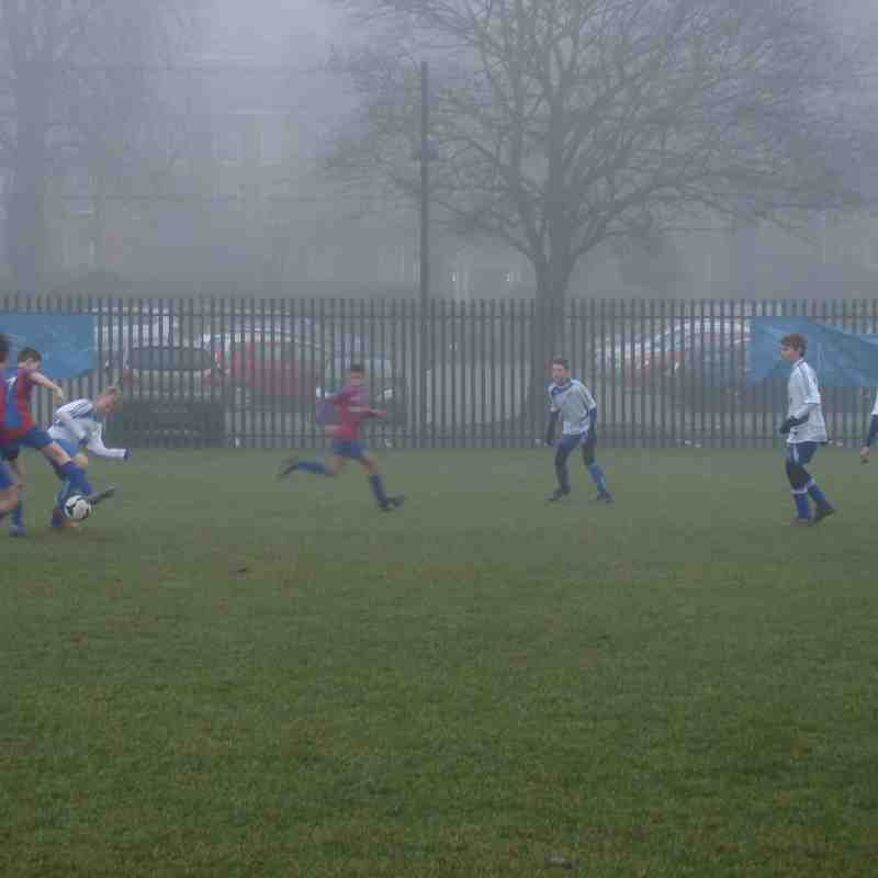 17.12.16 Teddington Athletic Sharks 0 U14 Cobras 6