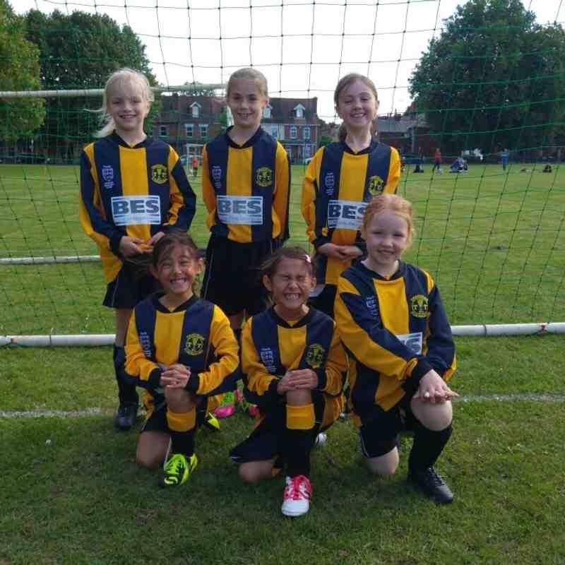 U8 Girls Football Festival Sept 2016