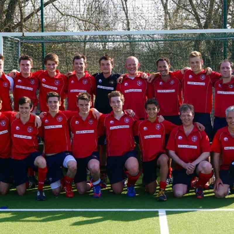 Men's 2s: Promotion again - 2014
