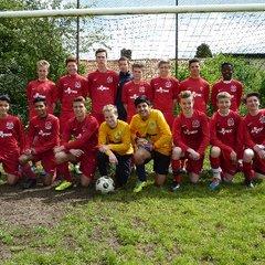BTYFC U15 Templars 2013-14 team photos