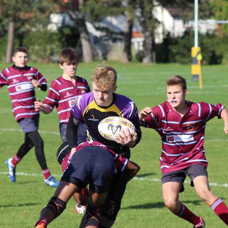 U15 Old Cats vs Crawley