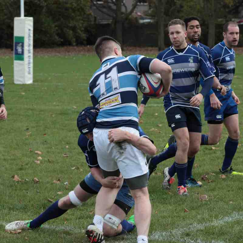 KXS 3rd XV v Old Brents II - Sat 5th Nov 2016