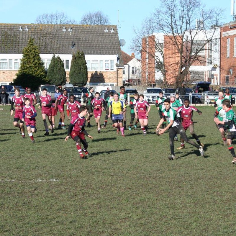 Streatham-Croydon U14s pipped at the last by Battersea Ironsides.