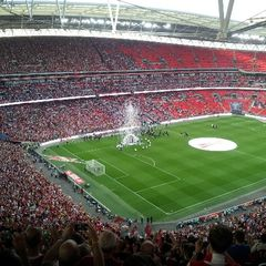 My Wembley Day out 2014