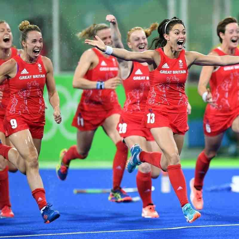 GB Women's Olympics 2016