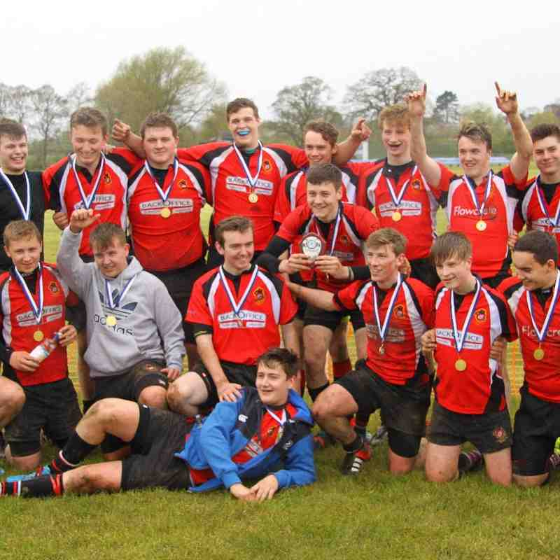 Congleton U16s vs New Brighton - Cheshire Shield - 01 May 2016