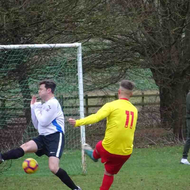 Lewis's Charity Football Match Andrew Reynoldson Select XI V Geddington Cricket Club XI Saturday 12th January 2019 Pictures: