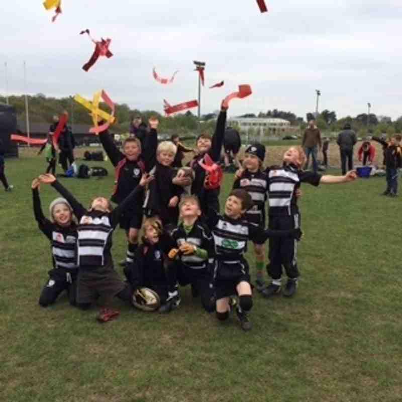 CRFC U8's win at Newbury Festival