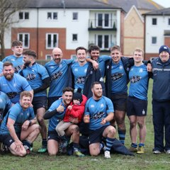 First XV @Dartford - 5 point win 27th Jan