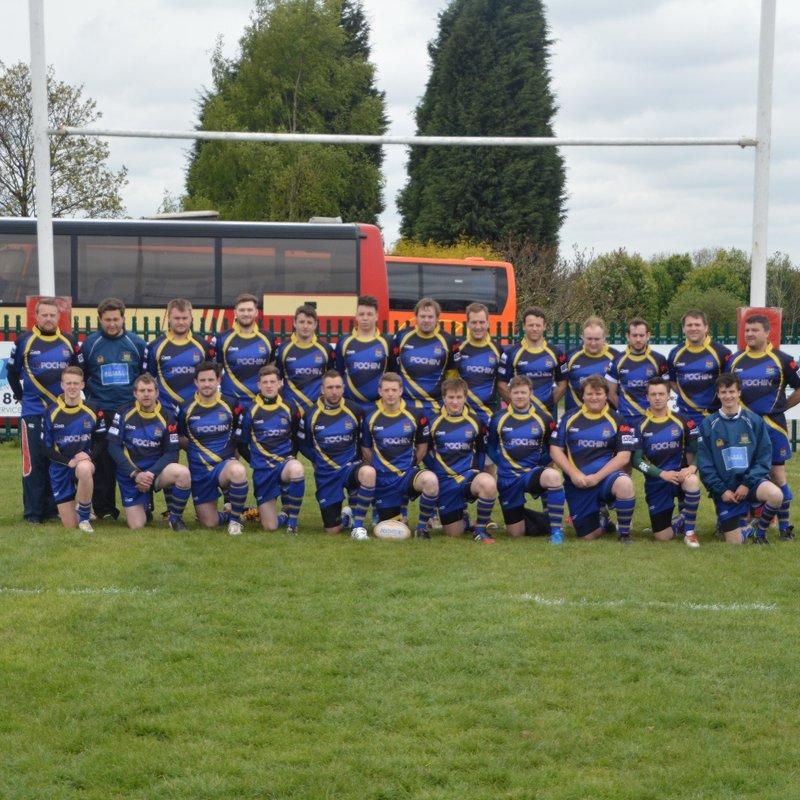 1st XV beat Northwich 2nd XV 40 - 22