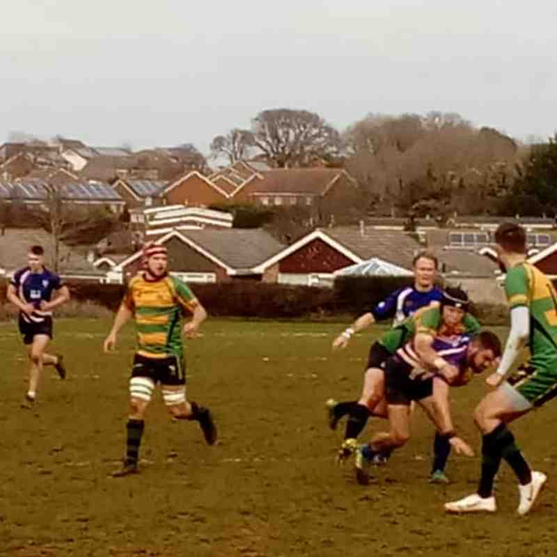 SSRFC 2nd XV vs Locksheath Pumas RFC 2nd XV - 09/03/2019