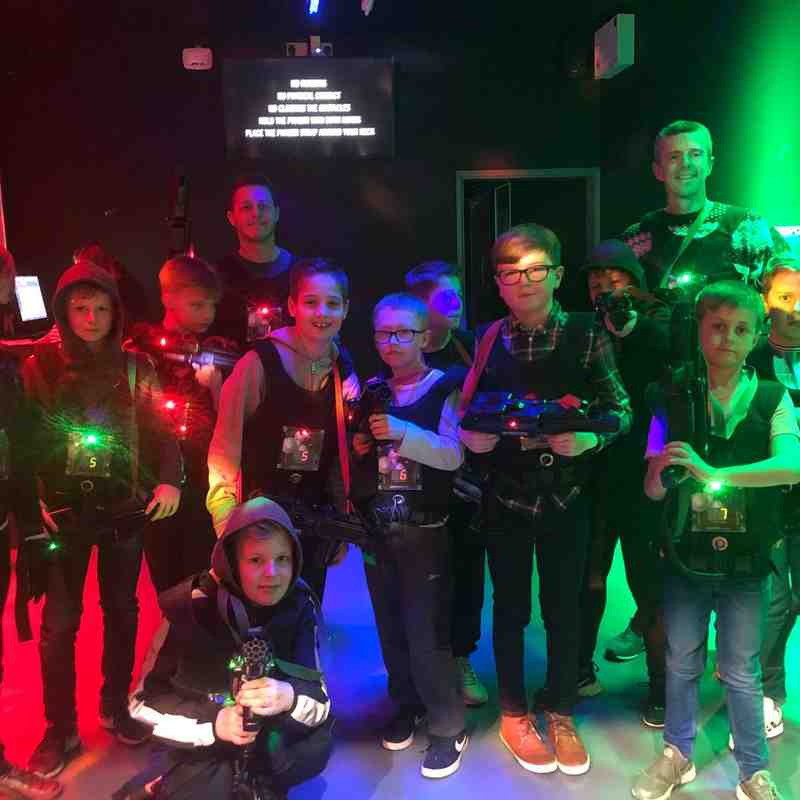 U10 Nuclear Lazer quest and bowling 2018...