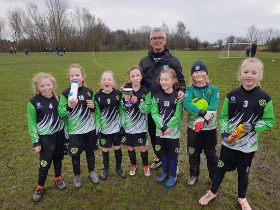 U9 Asteroid Girls v Pennington Girls BBDFL Quarter final (10/2/19)
