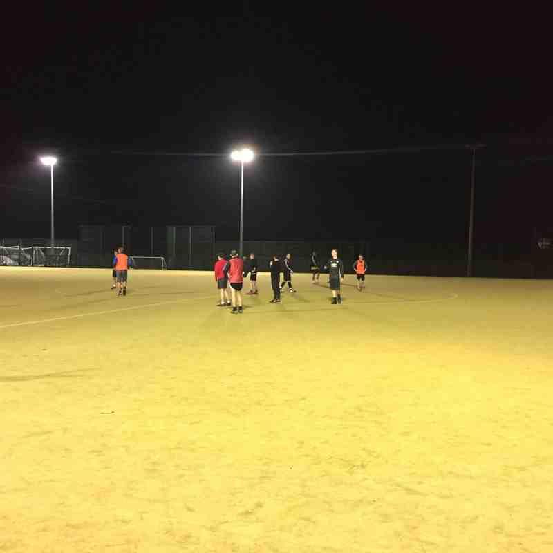 Leigh Genesis F.C / Leigh Athletic training 26/2/19