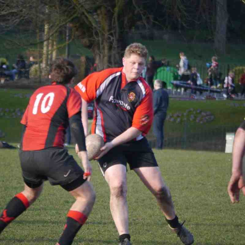 Congleton 2 Vs Oswestry 3 March 7th 2015